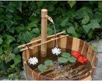 Garden Decoration POND/ BIRDBATH 24in. Adjust Spout & Pump Kit