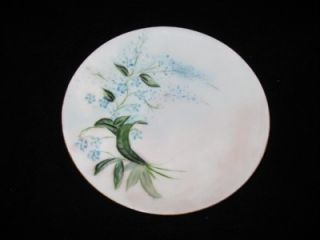 Hand Painted Bread Plate Thomas Sevres Bicknell Bavaria