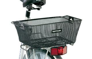 features of kettler rear bicycle basket quick attachment to rear