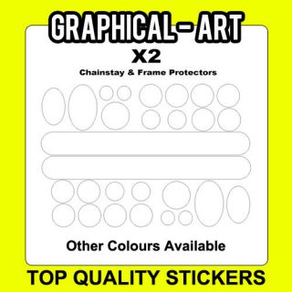 Cable Frame Protection Stickers for Bike Cycling Bicycles