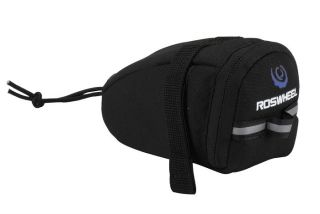 bicycle bike wedge pack saddle pouch under seat bag