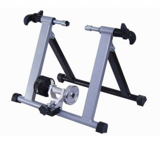 Bicycle Bike Trainer Cycle Exercise Silver New 20 Folding Trainer