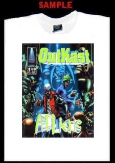 Outkast Atliens Custom Photo T Shirt Tee Big Boi 790