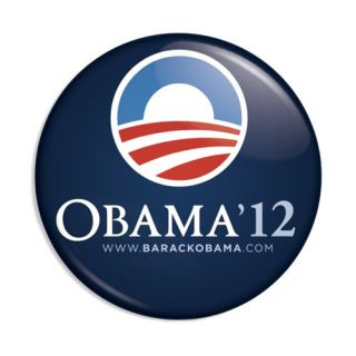 OBAMA BIDEN 2012 Presidential Campaign Button Pin