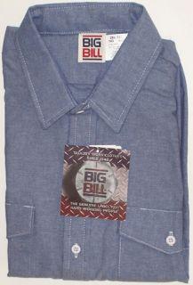 Chambray   Long Sleeve – Key   Cotton Blend   U.S.A.   21 22  BIG
