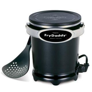 presto frydaddy electric deep fryer