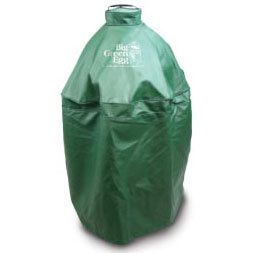 Big Green Egg Vented Heavy Duty Green Cover for Large Egg in Nest HLVC