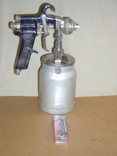 Binks Model 7 Spray Gun Cup Plus New Repair Kit