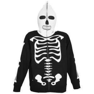 Big Boys Youth Volcom Full Zip Face Mask Hoodie Sweatshirt Jacket M 10