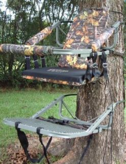 BigFoot Camo Hunting Climbing Tree Stand Deer Bow Heavy Duty WOW