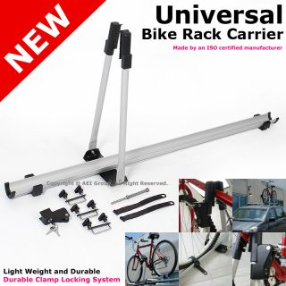 Light Weight Clamp Locking Roof Top Bike Bicycle Rack Carrier