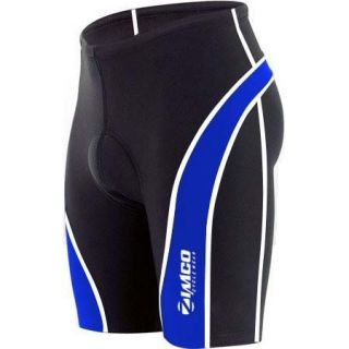 Zimco Pro Cycling Shorts Biking Bicycle Bike Shorts Black Coolmax