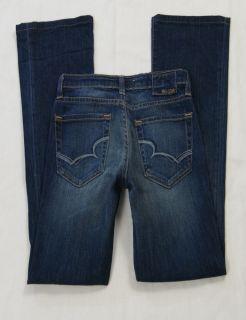 Big Star Dark MIA Boot Cut Stretch Jeans Size 26 JN754SB