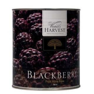Blackberry Vintners Harvest Fruit Bases Wine Canned Concentrate Juice