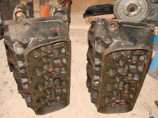 Big Block Chevy 049 Heads, New Manley Race Flo Valves, Crane Dual