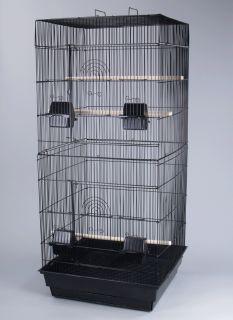 Parakeet Cockatiel Lovebird Finch Cages Bird Cage 18x18x41H