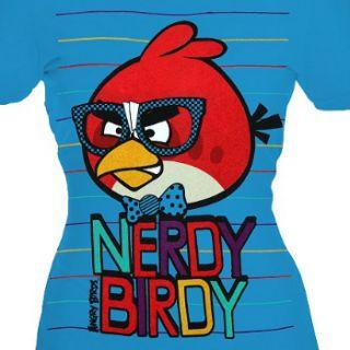 Nerdy Birdy Angry Birds Womens T Shirt New Halloween