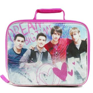 Big Time Rush Dream Big Time Nickelodeon Lunch Box Bag