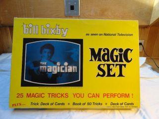 Vintage Bill Bixby The Magician Magic Set in Box