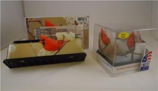 Magnetic Organizer Sticky Note Holder Bird Lover Desk Set