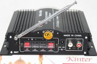 180W USB SD DVD CD  FM Digital Player Remote Control Car Power