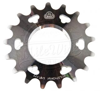 SE Bikes Fixed Gear Alloy Track Bubble Cog 20T Raw Screw On