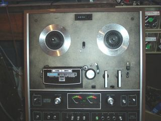 Akai GX 1820D Reel To Reel Tape Recorder And 8 Track Fully Tested And