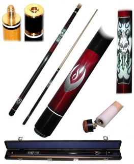 Screamin Demon 20 Ounce Pool Cue with Case Billiards
