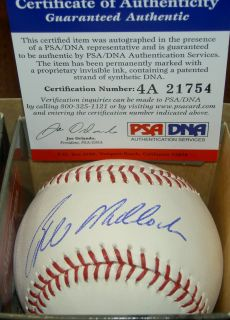 Bill Mad Dog Madlock Autograph Signed Baseball Pirates Dodgers PSA DNA