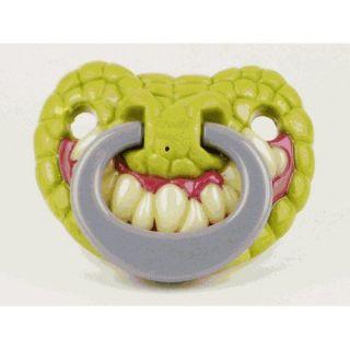 Billy Bob Funny Teeth Gator Babys Personality Pacifier 144550