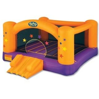 NEW SALE Blast Zone Superstar Inflatable Bouncer Bounce House, up to 5