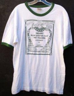 Ozzy Osbourne Blue Oyster Cult Heart Loverboy 1981 Vintage Concert T