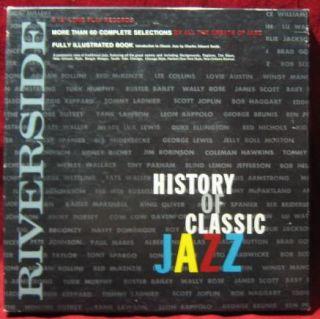 RIVERSIDE History Of Classic Jazz BOX SET LP Vinyl Record Album