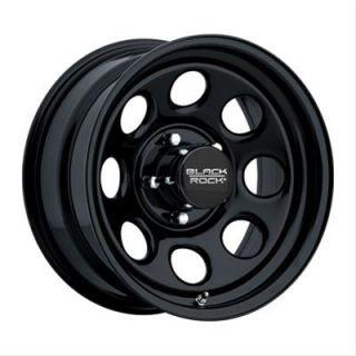 Black Rock Series 997 Type 8 Matte Black Wheel 16x8 5x5.5 BC Set of