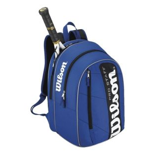 Wilson 2012 Pro Staff Backpack Tennis Bag Royal Blue Black