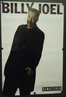 Billy Joel Double Sided Promo Poster Remastered Albums 1998 Piano Man