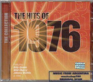 1976 Hits Billy Ocean Wild Cherry Johnny Mathis CD New