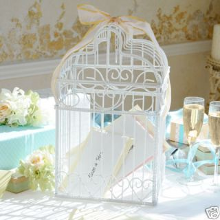 Wedding Card Box Bird Cage Card Holder
