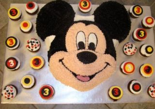 New Mickey Mouse Cake Pan Clubhouse Pan Cake Tin Kids Birthday Party