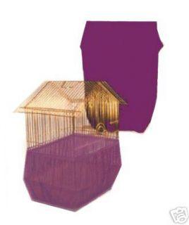 New Sheer Guard Bird Cage Skirt Purple Medium
