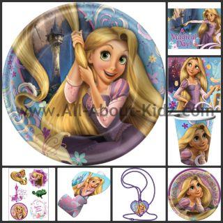 Princess Rapunzel Birthday Party Supplies Make Your Own Set