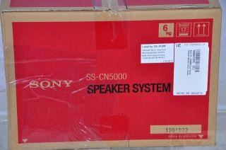Sony SS CN5000 Dual Center Channel Speaker Black Rtl $140