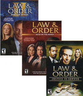 Law Order Dead on The Money Double or Nothing Justice 008888683322