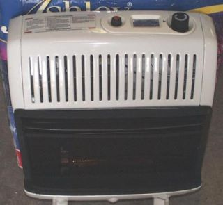 20K Vent Free Blue Flame Propane Wall Space Heater Ashy