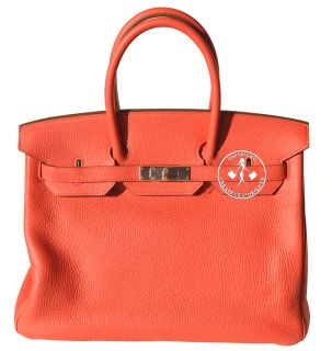 35 Hermes Birkin Handbag Rose Jaipur Clemence Leather I Palladium 9818