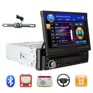 Car DVD Stereo Player Bluetooth Radio Subwoofer Steer