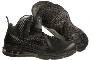 New Mens Nike Lebron 9 Basketball Shoes Black Black Anthracite 469764