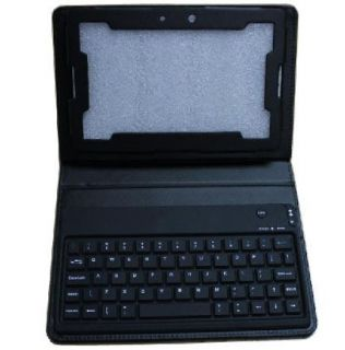 Bluetooth Keyboard Leather Case Cover Pouch for Blackberry Playbook 7