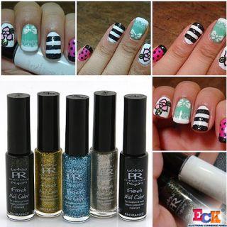 Prorance Nail Art Polish Fine Line Brush 11 Colors