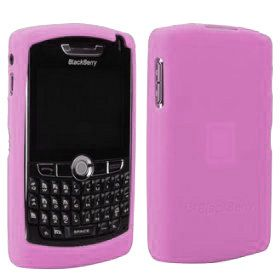 Blackberry Rim Genuine Pink Silicone Flex Skin Cover Case for 8800